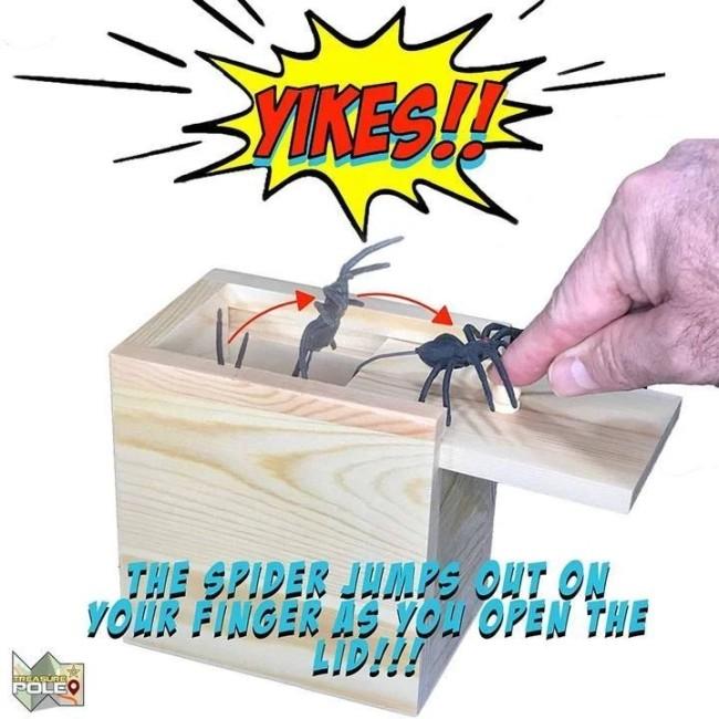 Prank Scare Spider
