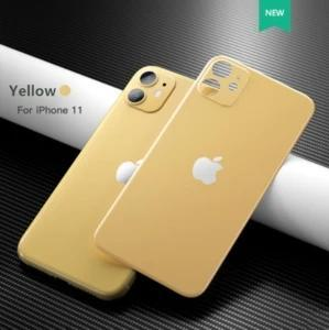 Frosted Advanced Original Glass film behind iphone11 / PRO / MAX——Protect Lens and Glass