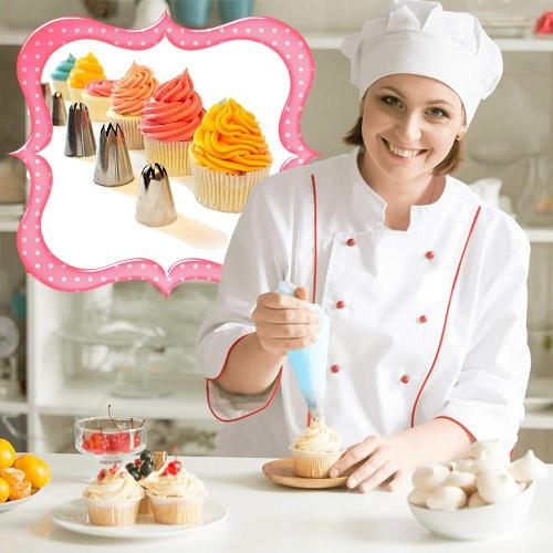 24 Nozzle Cake Decorating Set + Pastry Bag