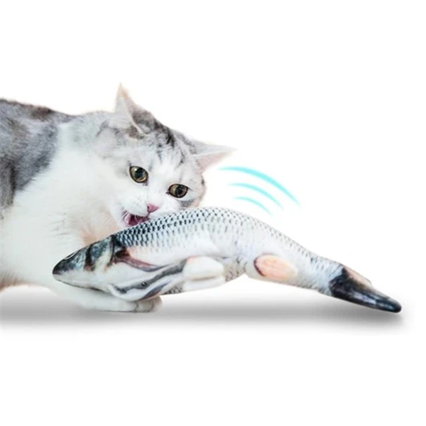 Cat Toy Dancing Fish