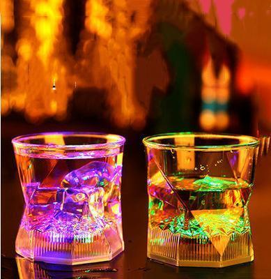Colorful LED Drinking Glass