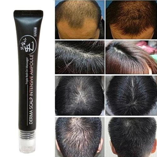 Hair Growth Serum Triple Roll-on Massager
