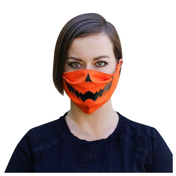 Halloween Pumpkin Cloth Mask Accessories