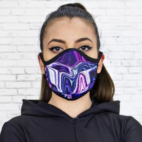 Fashion Printed Cloth Mask Accessories