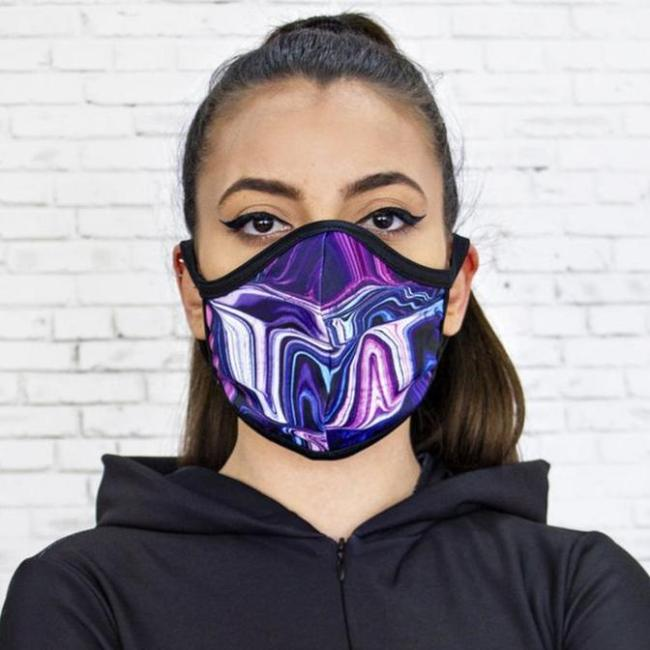Fashion Printed Cloth Mask Accessories