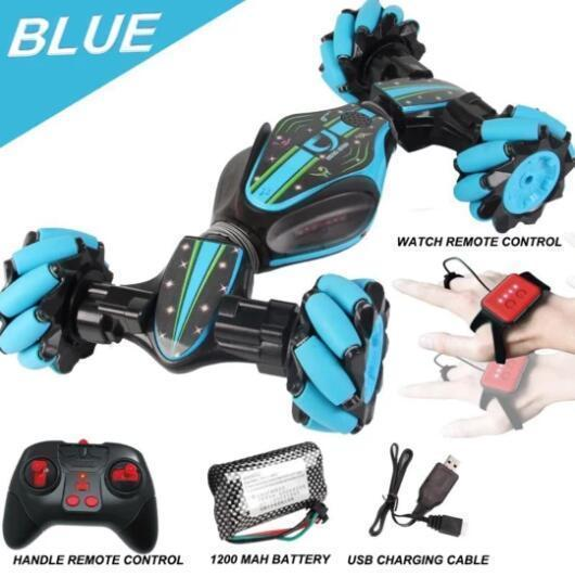LIMITED TIME OFFER-GESTURE CONTROL - DOUBLE-SIDED STUNT CAR