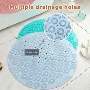 Non-slip massage silicone pad