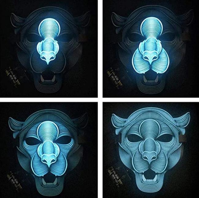 Sound Reactive Mask(Halloween)