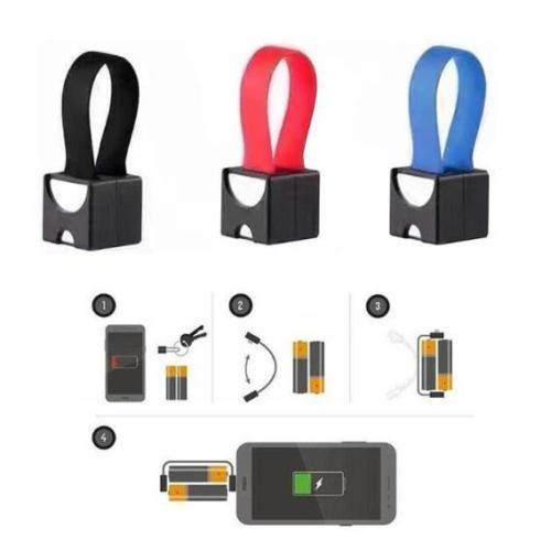 Portable AA AAA Micro-USB Emergency Charger