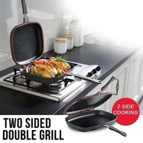 Double-Sided Grill Pan