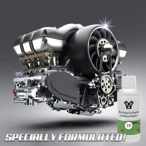 No-Rinse Car Engine Restoration Cleaner