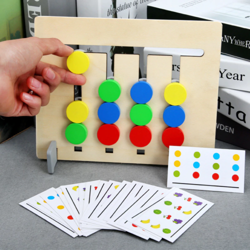 Four-color game-multifunctional educational toy