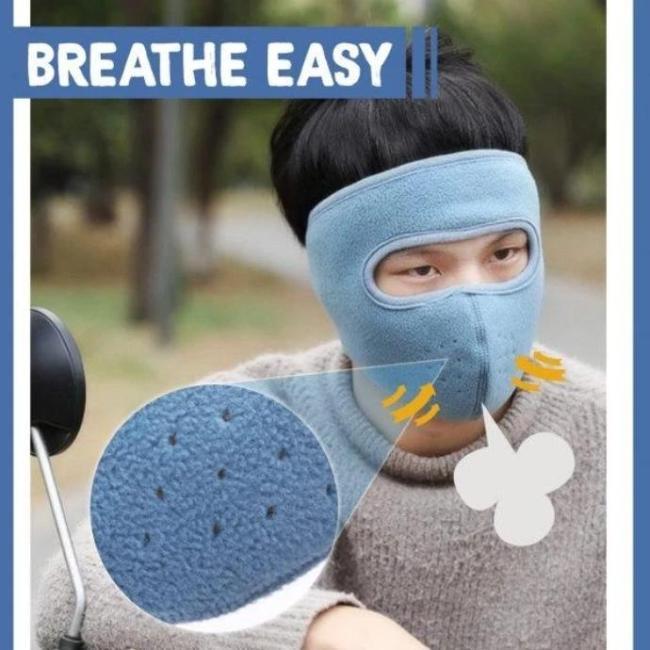 EAR-PROTECTING WARM MASK
