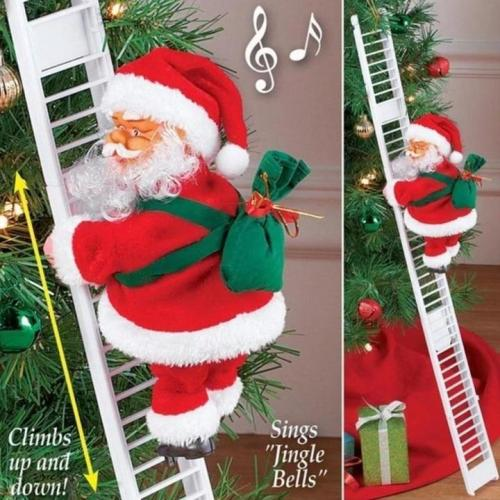 Christmas Hot Sale! Climbing Santa Claus