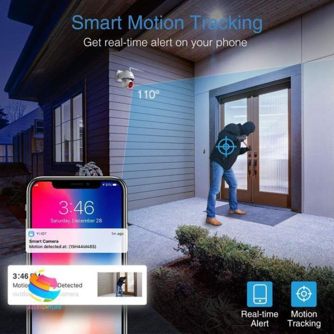 Global Technology - Waterproof Outdoor Wifi Camera