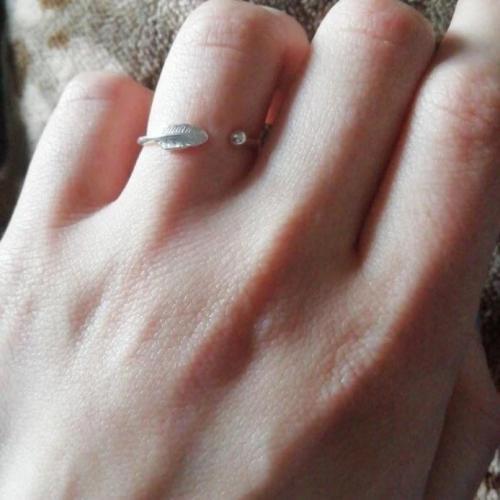 Adjustable Plume Ring