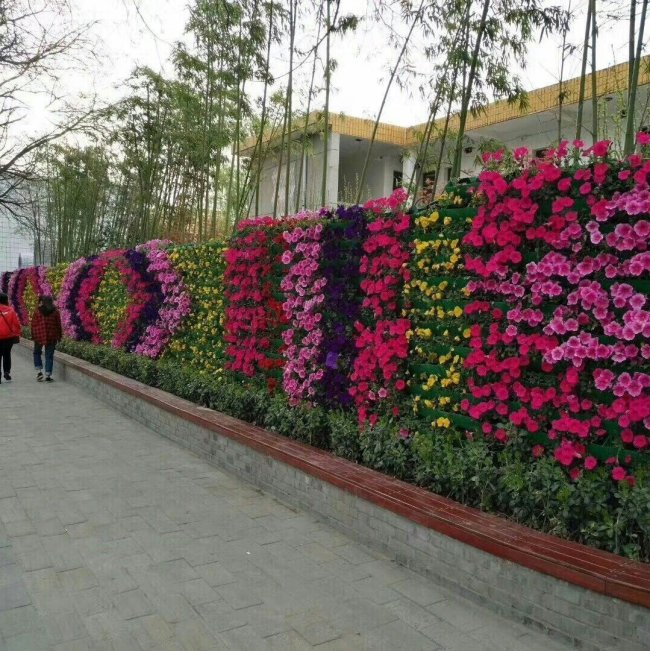 Combination Wall Planting Pots