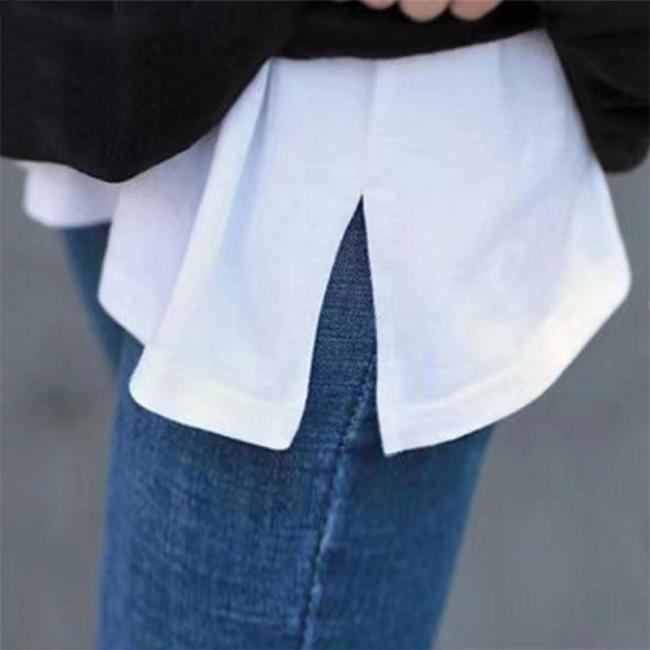 Mini Skirt Shirt Extenders