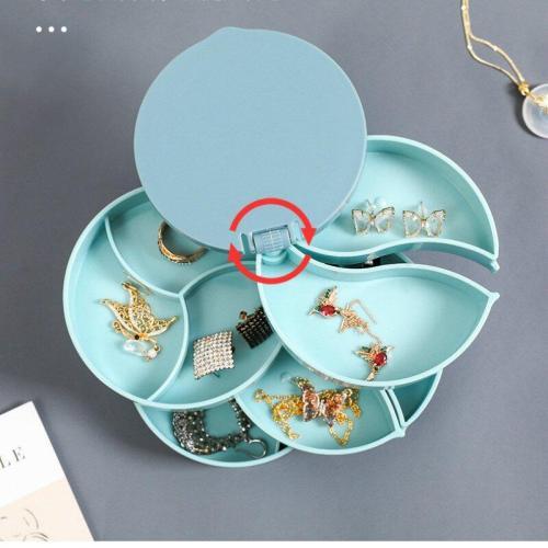 Multifunction Jewelry Tranish Resistant Storage Box