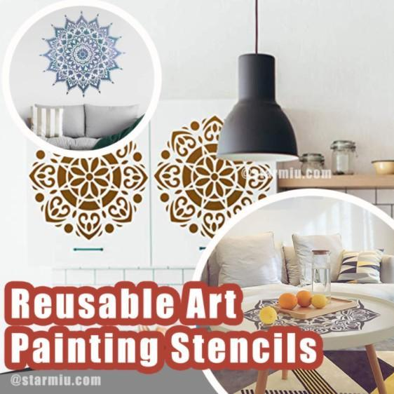 Premium Quality Reusable Stencils