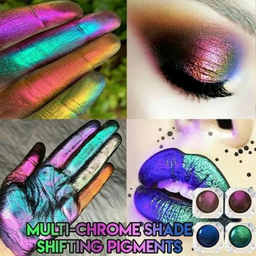 Multi-Chrome Shade Shifting Pigments Eye Shadow