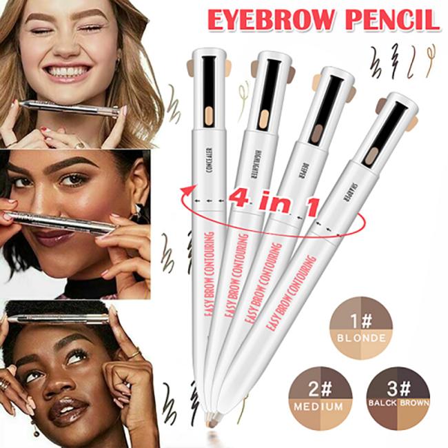 4-In-1 Brow Contour & Highlight Pen