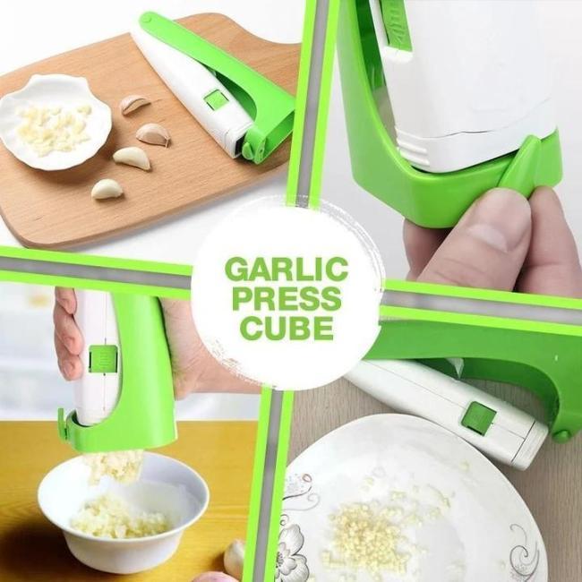 Multi-purpose Garlic Press Cube
