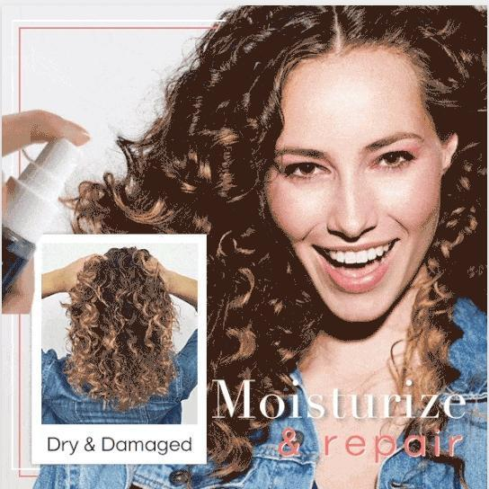 Hair Curling Essence Spray