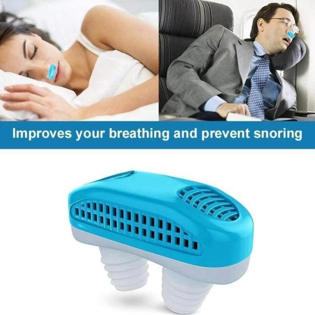Micro CPAP Anti Snoring Electronic Device