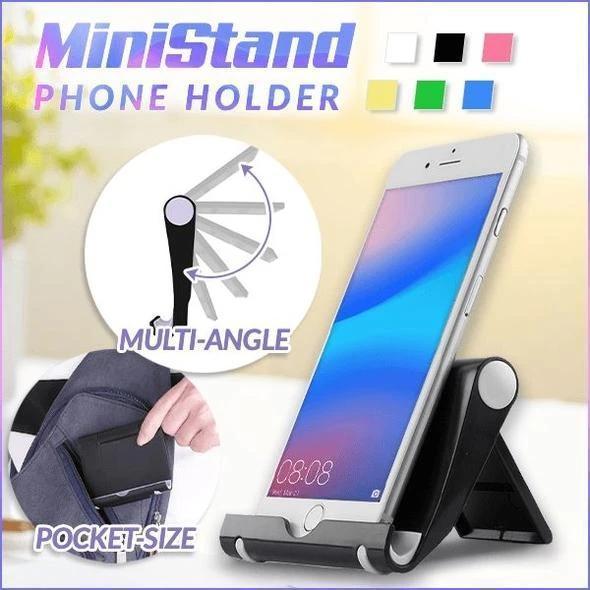 MINISTAND MULTI-ANGLE PHONE HOLDER