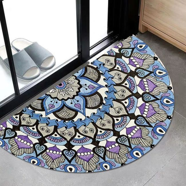 SEMICIRCLE CARPET--【ONLY 100 ITEMS LEFT】