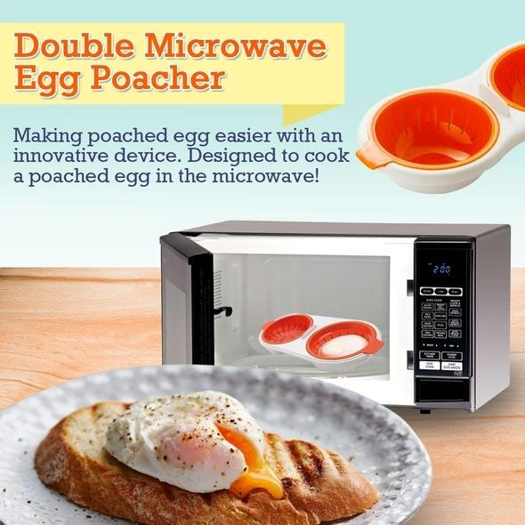 Perfect Double Egg Poacher