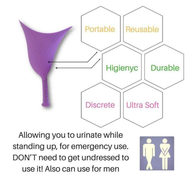 Portable Women Urinal - Suitable for Post-op & Post-injury