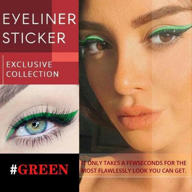 Reusable Eyeliner Stickers