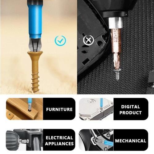 Magnetic Anti-Slip Drill Bit (7PCS)