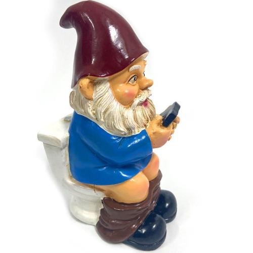 Funny garden gnomes cute gnome for garden decorating