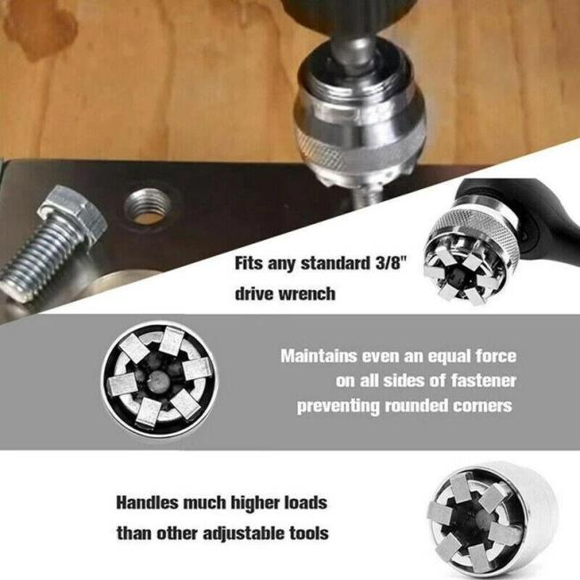 Adjustable Magical Socket Pro Wrench