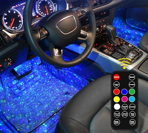 🔥2021 new car interior atmosphere lamp🔥 (full of stars)