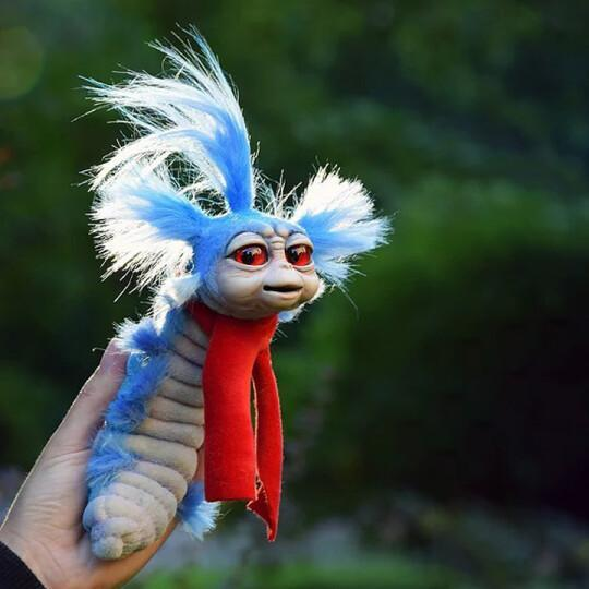 Worm from Labyrinth