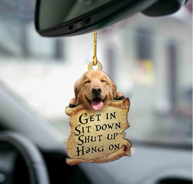 Animal lover two sided ornament