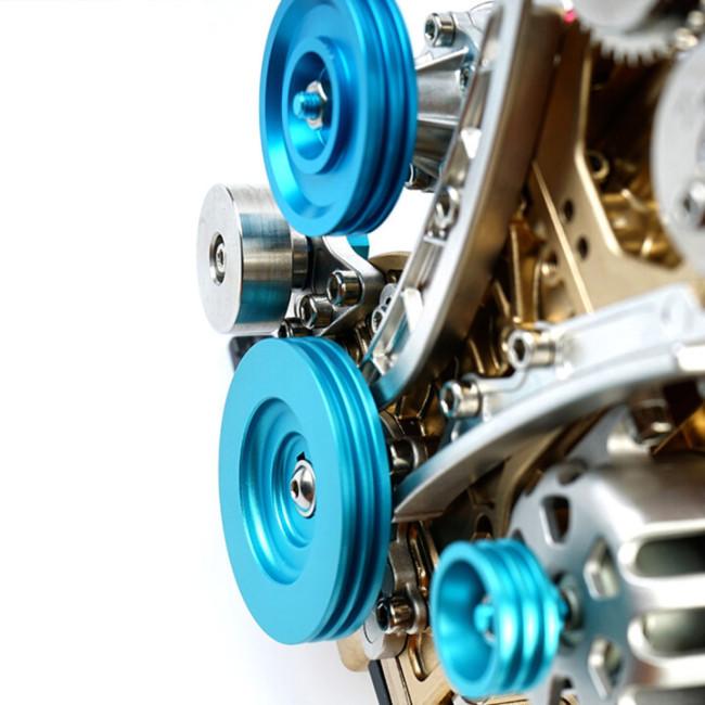 4 cylinder car engine kit adult model