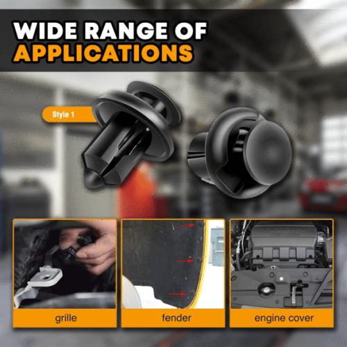 Car Push-Type Rivet Kit
