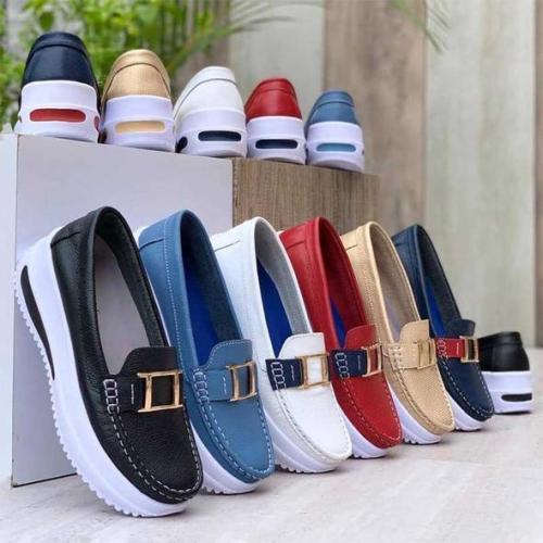 Women's Comfortable Platform Loafers