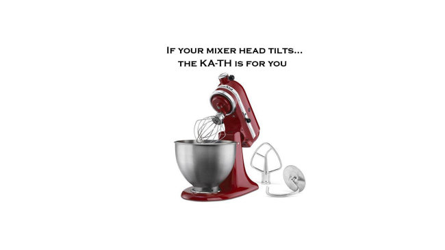 Tilting head mixer