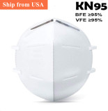 [50 PCS] KN95 Face Mask Safety Mouthe Safety for Respiratory Protection, Ship from China, White