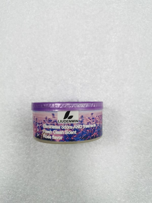 LIUDENWIN Odor Eliminator Gel Beads - Air Freshener with Essential Oils - Eliminates Odors in Pet Areas, Bathrooms, Boats, RVs and Cars - Rose Flavor-Purple