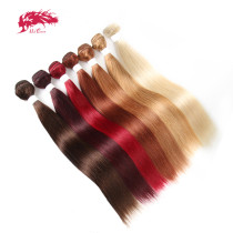 Ali Queen Hair Brazilian Remy Hair Human Weaves Bundles 613#/33#/30#/27#/99J#/BURG# Straight Human Hair Extension Hair Weft