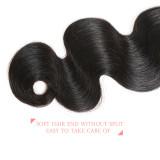 Ali Queen Hair Brazilian Body Wave Virgin Human Hair Weave Bundles Natural Color 8-34 inches 100% Human Hair Weaving