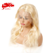 13x4 Virgin Remy Hair Wigs Body Wave Lace Front Wig 613# Blonde Hair Wig Human Hair Wigs 150 Density