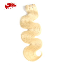 Brazilian Virgin Hair Extension 613# Color 8~34 Inches 100% Unprocessed Body Wave Human Hair Weave Bundles Ali Queen Hair
